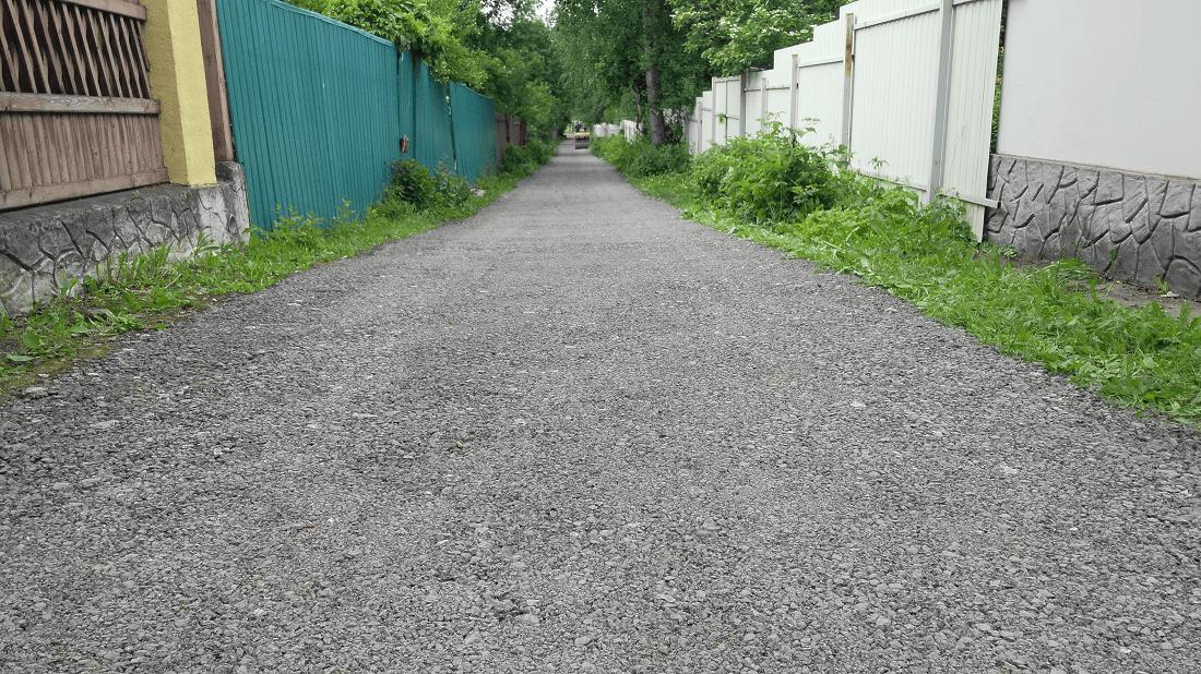 Дорога из асфальтовой крошки ЩМА