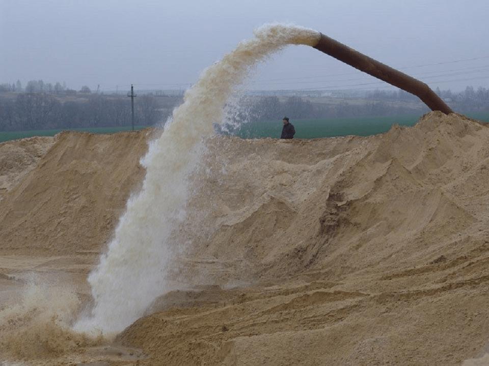 Мытый карьерный песок