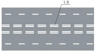 горизонтальная дорожная разметка 6